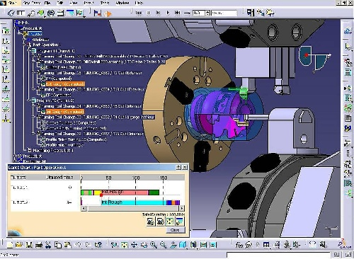پروژه CAD/CAM با عنوان Prismatic Machining